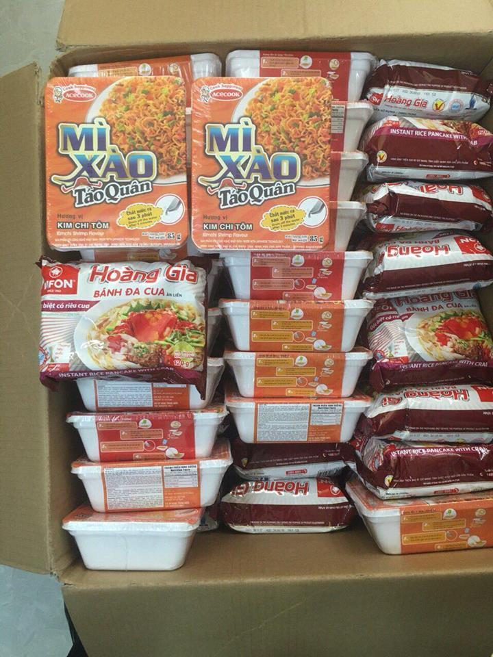 gửi đồ dùng, thuốc, thực phẩm đi nước ngoài của Indochina